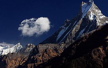 Machhapuchchhre (fishtail) 6,993 m