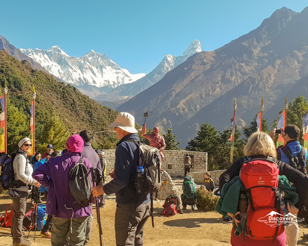 Vacation in Everest Base Camp from September to October