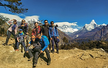 View from Namche Bazar