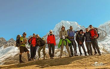 Everest High Three Passes Trek