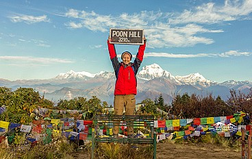 Poon Hill(3,210m)
