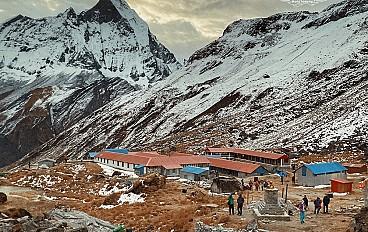 Loges in Annapurna Base Camp (4,130m)