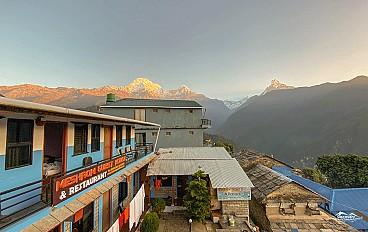 Lodge in Ghandruk