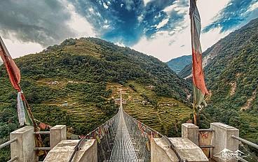 Bridges in Jhinu Danda