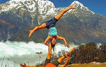 Machhapuchchhre (fishtail) 6,993 m Mardi Himal Trekking