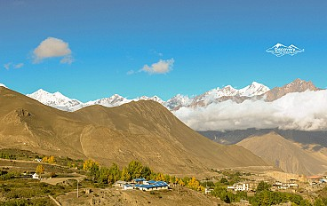 view-from muktinath