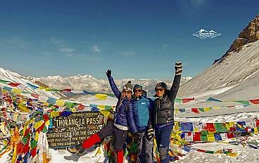 Thorong La high pass (5,416 m)