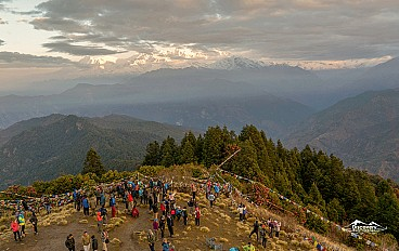 View from Poon Hill (3,210m)