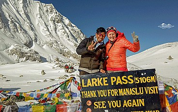 Larke La Pass (5,106m)