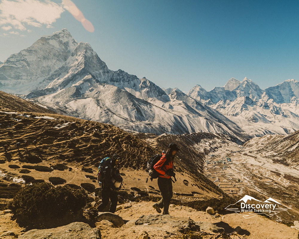 A picture from Everest base Camp trek itinerary