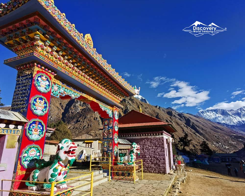 Tengboche monastery : Everest base Camp trek route