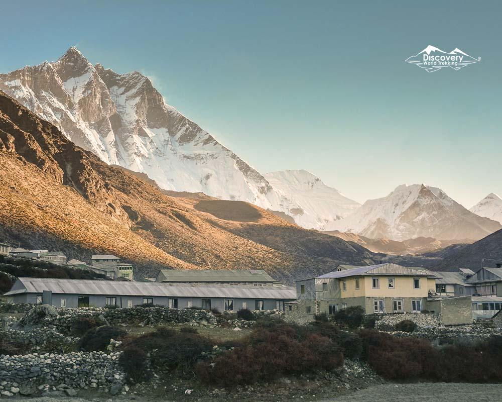 Mt Ama Dablam : Everest base Camp trek route : Dingboche view