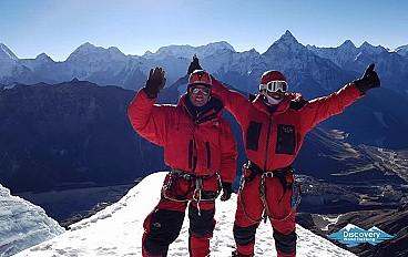Three Peaks Climbing - Pokalde, The Island and Lobuche East Image 1